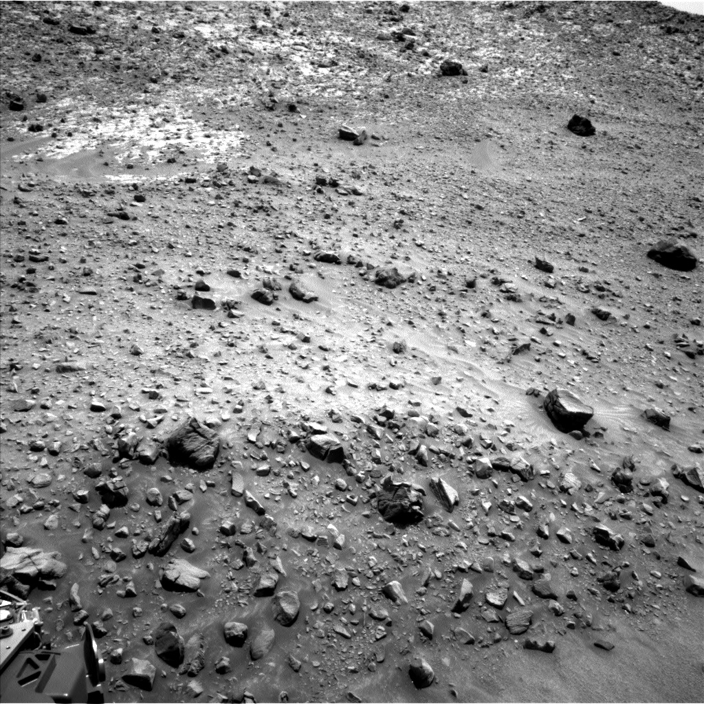 Nasa's Mars rover Curiosity acquired this image using its Left Navigation Camera on Sol 950, at drive 1558, site number 45