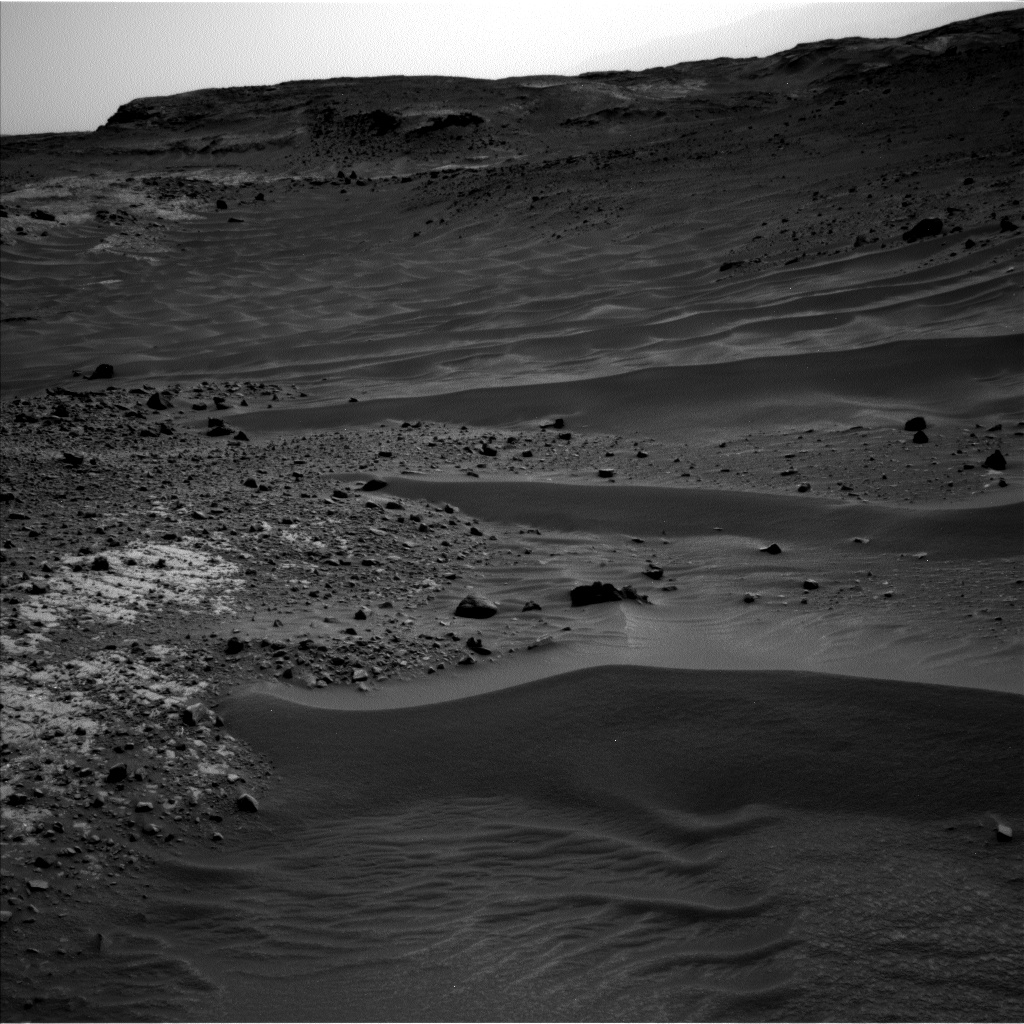 Nasa's Mars rover Curiosity acquired this image using its Left Navigation Camera on Sol 951, at drive 1696, site number 45