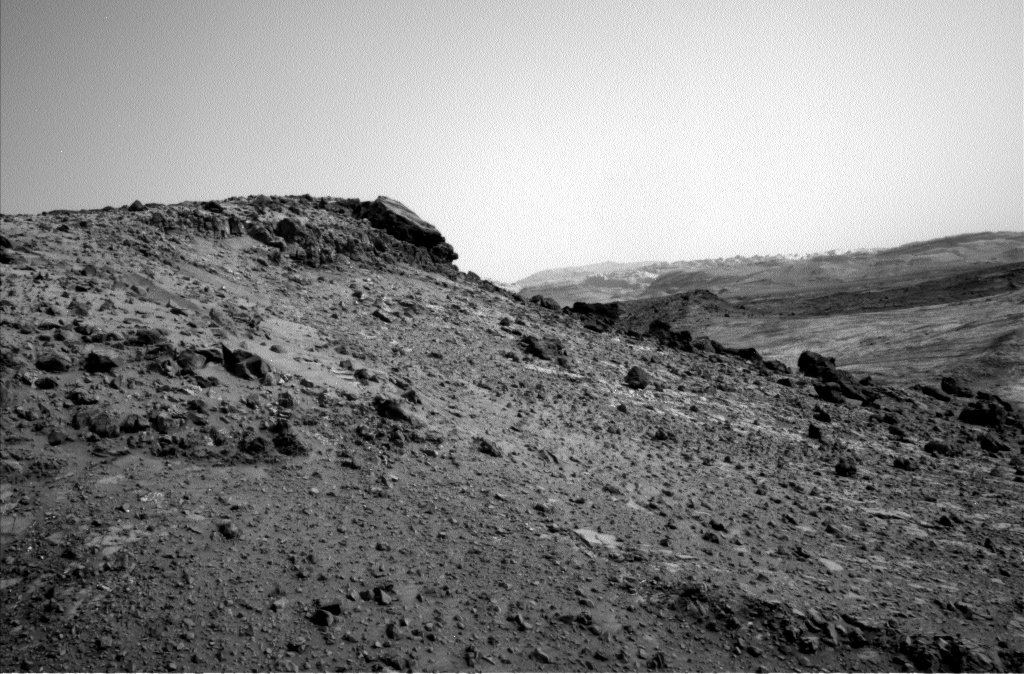 NASA's Mars rover Curiosity acquired this image using its Left Navigation Camera (Navcams) on Sol 951