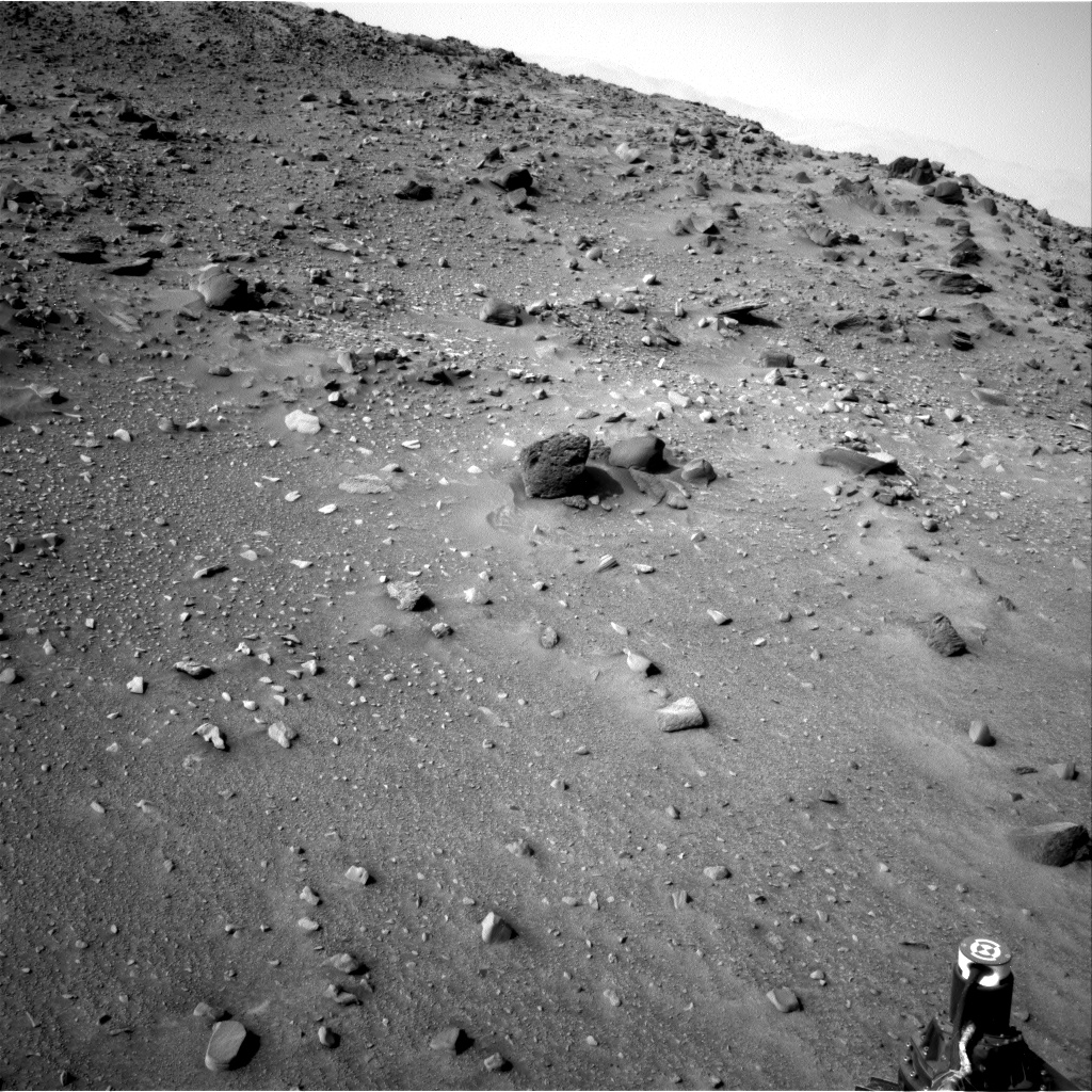 Nasa's Mars rover Curiosity acquired this image using its Right Navigation Camera on Sol 951, at drive 1696, site number 45