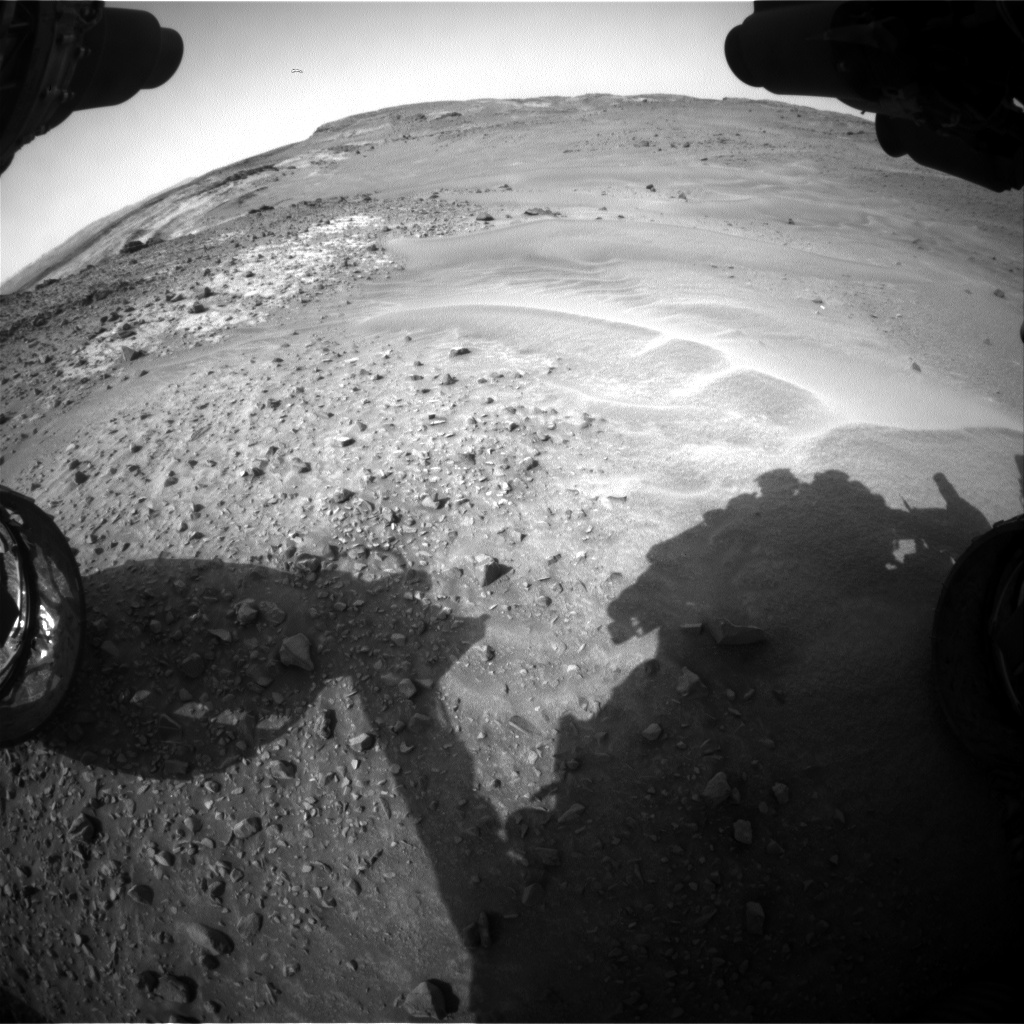 Nasa's Mars rover Curiosity acquired this image using its Front Hazard Avoidance Camera (Front Hazcam) on Sol 952, at drive 1696, site number 45