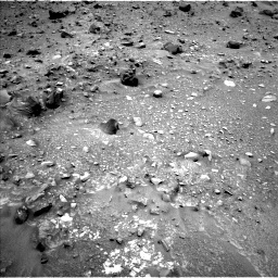 Nasa's Mars rover Curiosity acquired this image using its Left Navigation Camera on Sol 952, at drive 1738, site number 45
