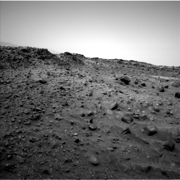 Nasa's Mars rover Curiosity acquired this image using its Left Navigation Camera on Sol 952, at drive 1786, site number 45