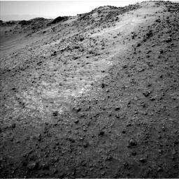 Nasa's Mars rover Curiosity acquired this image using its Left Navigation Camera on Sol 952, at drive 1840, site number 45
