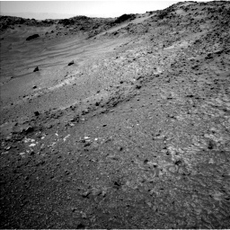 Nasa's Mars rover Curiosity acquired this image using its Left Navigation Camera on Sol 952, at drive 1864, site number 45