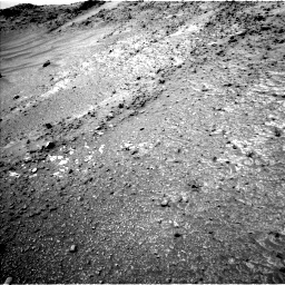 Nasa's Mars rover Curiosity acquired this image using its Left Navigation Camera on Sol 952, at drive 1888, site number 45
