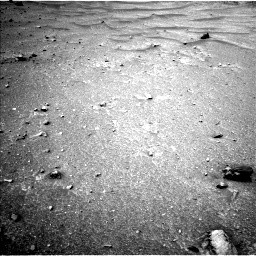 Nasa's Mars rover Curiosity acquired this image using its Left Navigation Camera on Sol 952, at drive 1948, site number 45