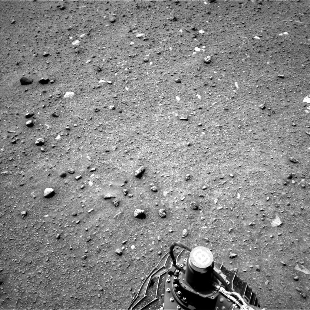 Nasa's Mars rover Curiosity acquired this image using its Left Navigation Camera on Sol 952, at drive 0, site number 46