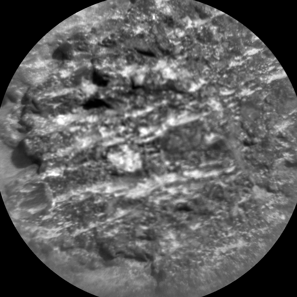 Nasa's Mars rover Curiosity acquired this image using its Chemistry & Camera (ChemCam) on Sol 953, at drive 0, site number 46