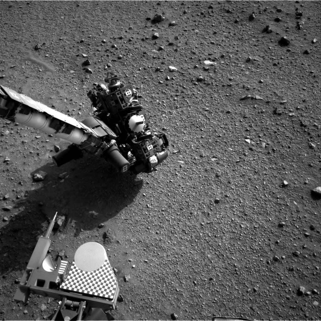Nasa's Mars rover Curiosity acquired this image using its Right Navigation Camera on Sol 954, at drive 0, site number 46