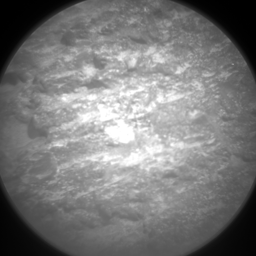 Nasa's Mars rover Curiosity acquired this image using its Chemistry & Camera (ChemCam) on Sol 955, at drive 0, site number 46