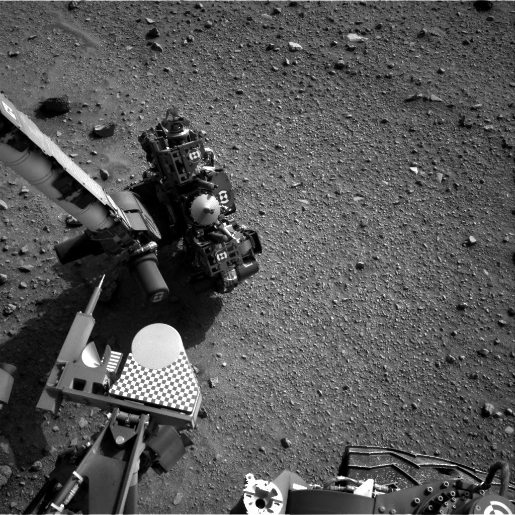 Nasa's Mars rover Curiosity acquired this image using its Right Navigation Camera on Sol 955, at drive 0, site number 46
