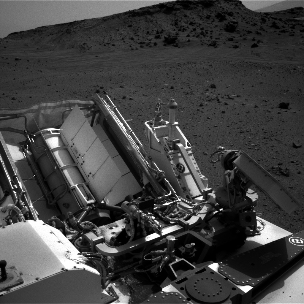 Nasa's Mars rover Curiosity acquired this image using its Left Navigation Camera on Sol 956, at drive 0, site number 46