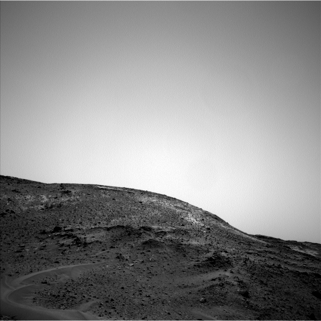 Nasa's Mars rover Curiosity acquired this image using its Left Navigation Camera on Sol 956, at drive 472, site number 46