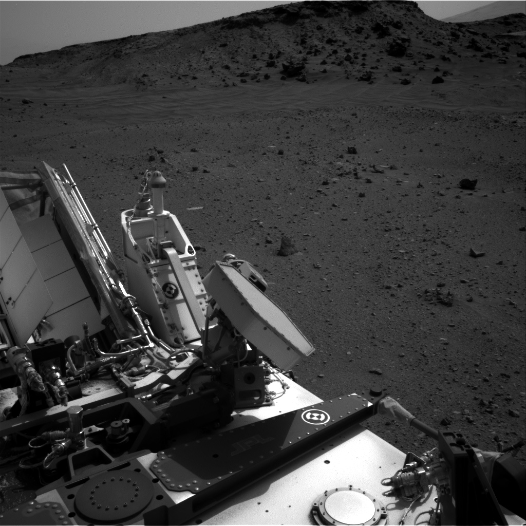 Nasa's Mars rover Curiosity acquired this image using its Right Navigation Camera on Sol 956, at drive 0, site number 46