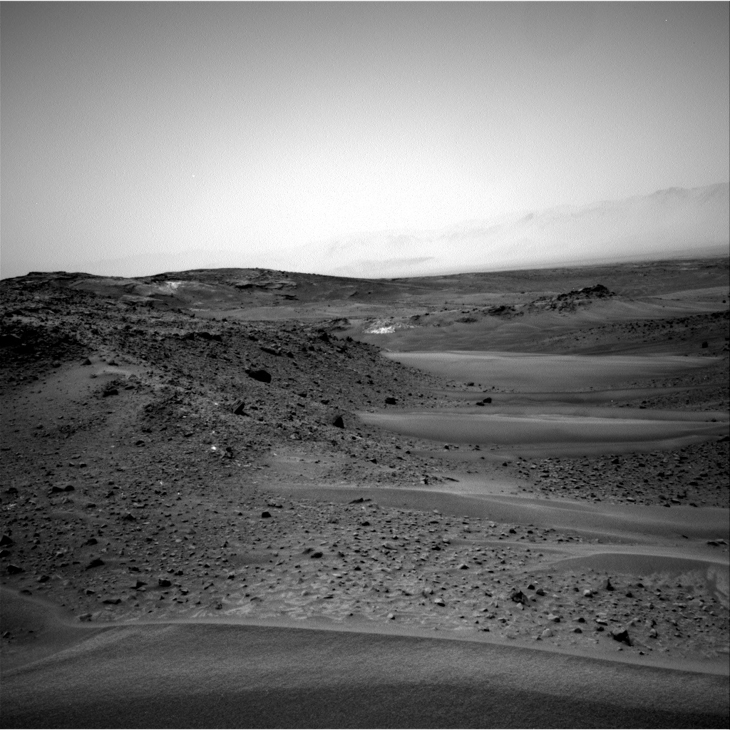 Nasa's Mars rover Curiosity acquired this image using its Right Navigation Camera on Sol 956, at drive 372, site number 46