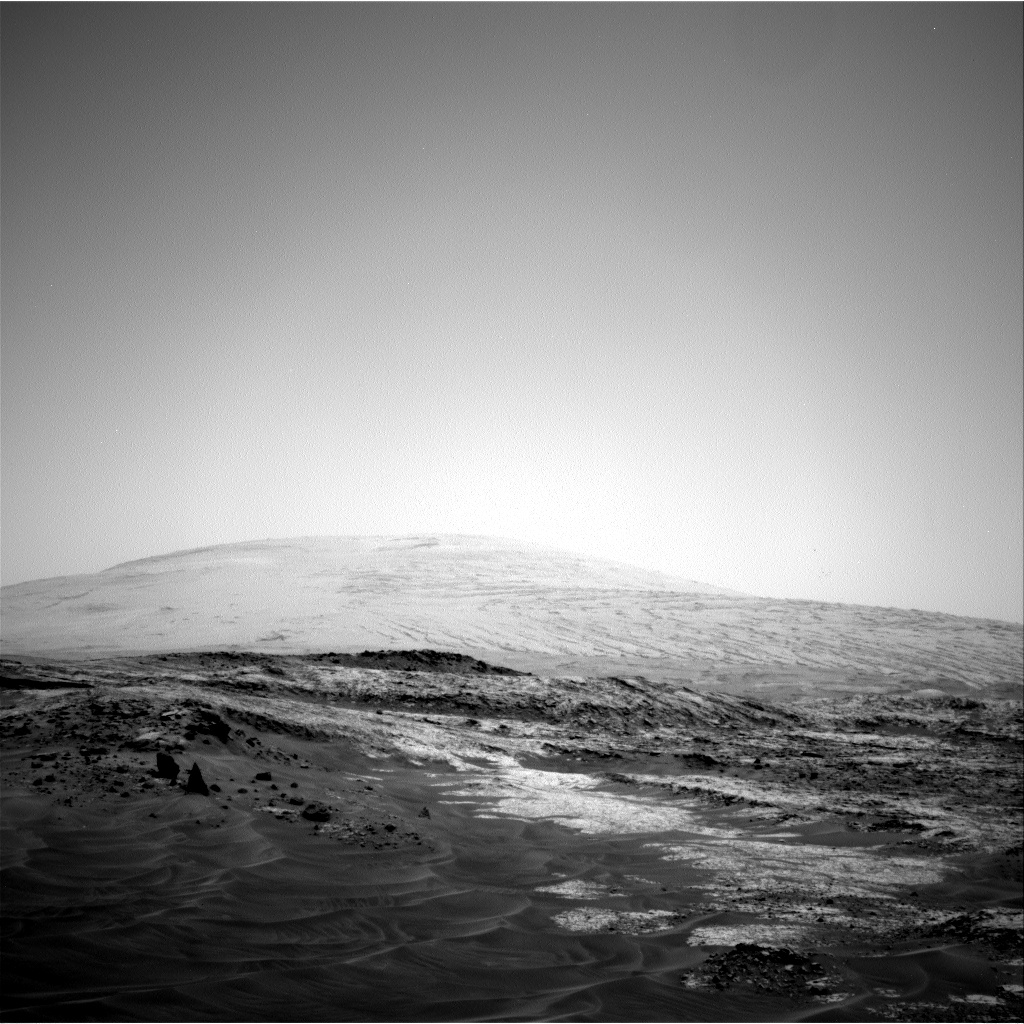 Nasa's Mars rover Curiosity acquired this image using its Right Navigation Camera on Sol 956, at drive 472, site number 46