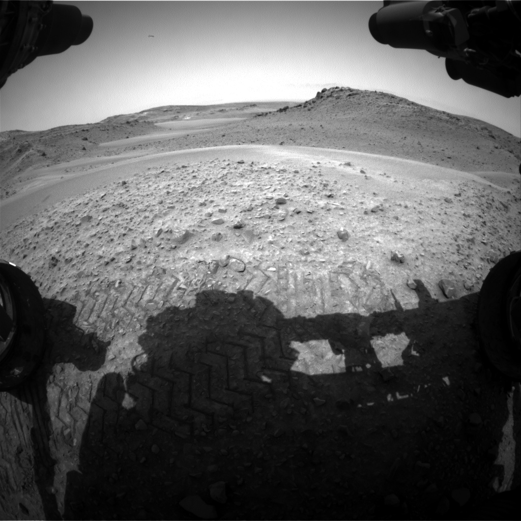 Nasa's Mars rover Curiosity acquired this image using its Front Hazard Avoidance Camera (Front Hazcam) on Sol 957, at drive 472, site number 46