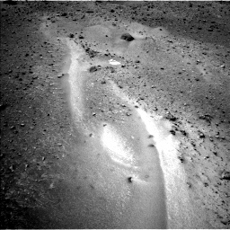 Nasa's Mars rover Curiosity acquired this image using its Left Navigation Camera on Sol 957, at drive 490, site number 46