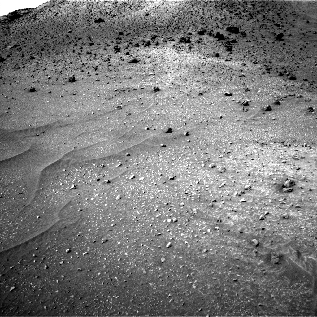 Nasa's Mars rover Curiosity acquired this image using its Left Navigation Camera on Sol 957, at drive 934, site number 46