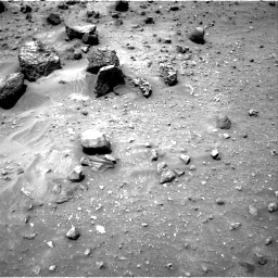 Nasa's Mars rover Curiosity acquired this image using its Right Navigation Camera on Sol 957, at drive 640, site number 46