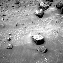 Nasa's Mars rover Curiosity acquired this image using its Right Navigation Camera on Sol 957, at drive 652, site number 46