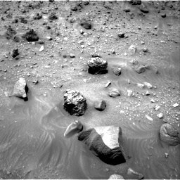 Nasa's Mars rover Curiosity acquired this image using its Right Navigation Camera on Sol 957, at drive 676, site number 46