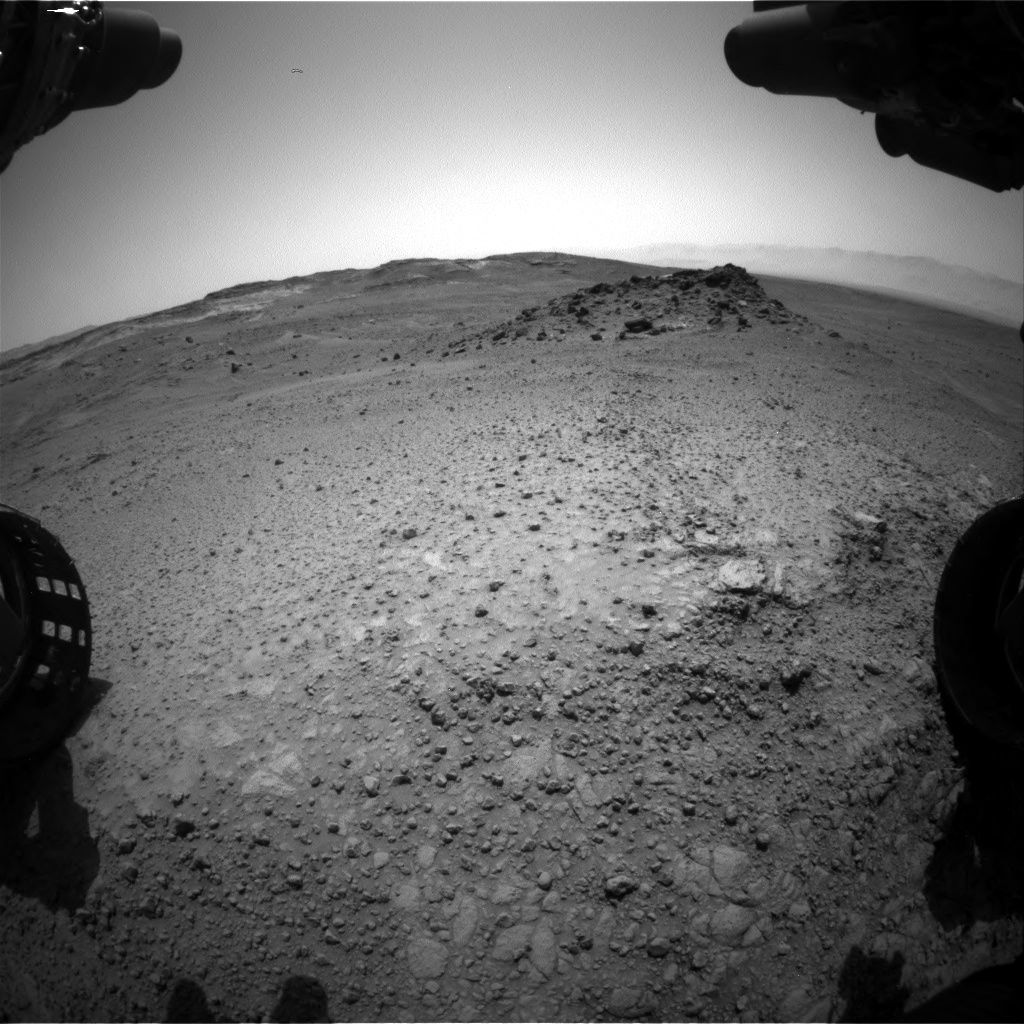 Nasa's Mars rover Curiosity acquired this image using its Front Hazard Avoidance Camera (Front Hazcam) on Sol 958, at drive 1162, site number 46