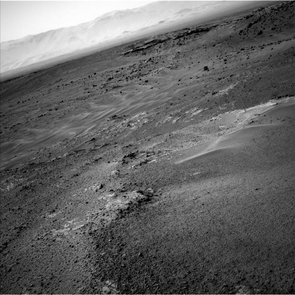 Nasa's Mars rover Curiosity acquired this image using its Left Navigation Camera on Sol 958, at drive 1162, site number 46