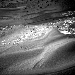 Nasa's Mars rover Curiosity acquired this image using its Right Navigation Camera on Sol 958, at drive 1102, site number 46