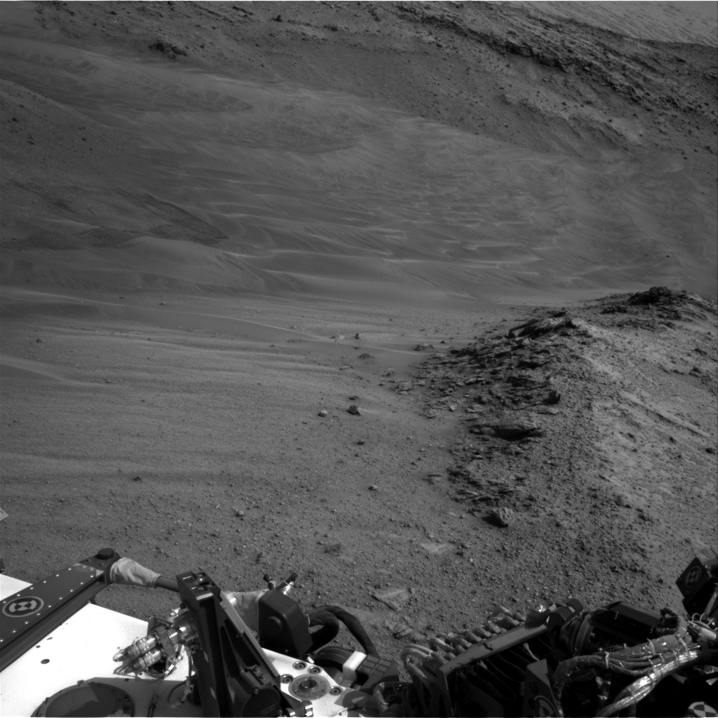 Nasa's Mars rover Curiosity acquired this image using its Right Navigation Camera on Sol 958, at drive 1162, site number 46