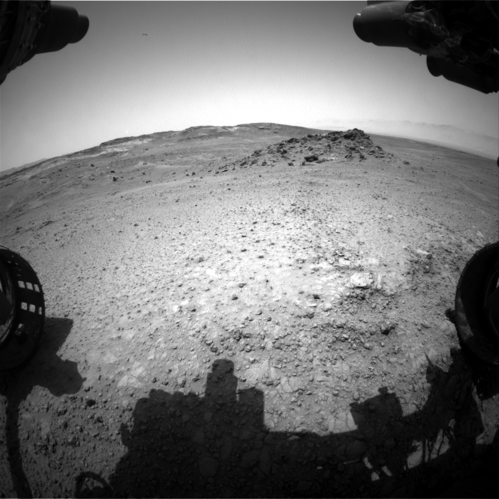 Nasa's Mars rover Curiosity acquired this image using its Front Hazard Avoidance Camera (Front Hazcam) on Sol 959, at drive 1162, site number 46