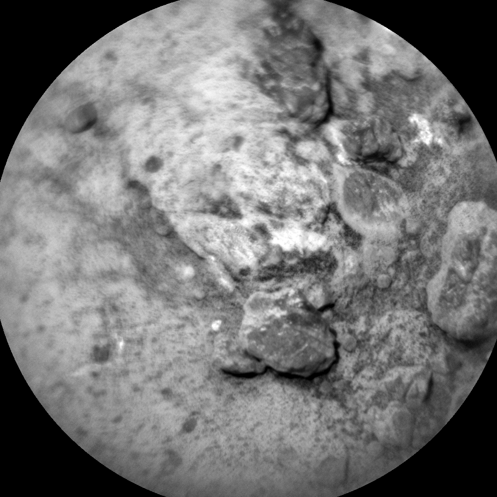 Nasa's Mars rover Curiosity acquired this image using its Chemistry & Camera (ChemCam) on Sol 959, at drive 1162, site number 46