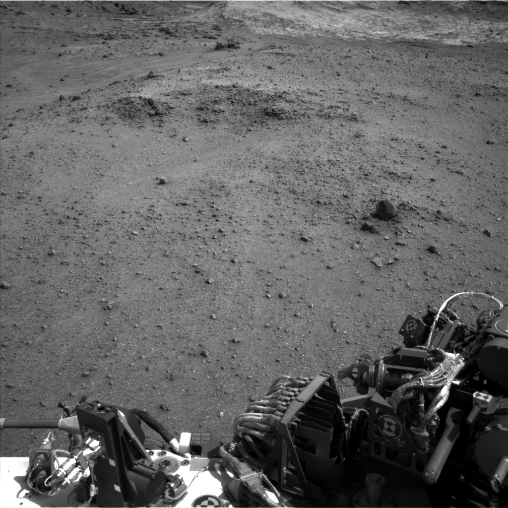 Nasa's Mars rover Curiosity acquired this image using its Left Navigation Camera on Sol 960, at drive 1676, site number 46
