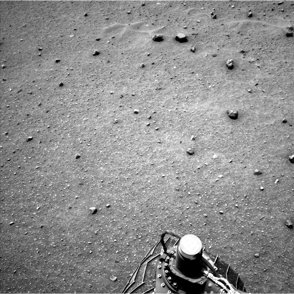 Nasa's Mars rover Curiosity acquired this image using its Left Navigation Camera on Sol 962, at drive 1710, site number 46