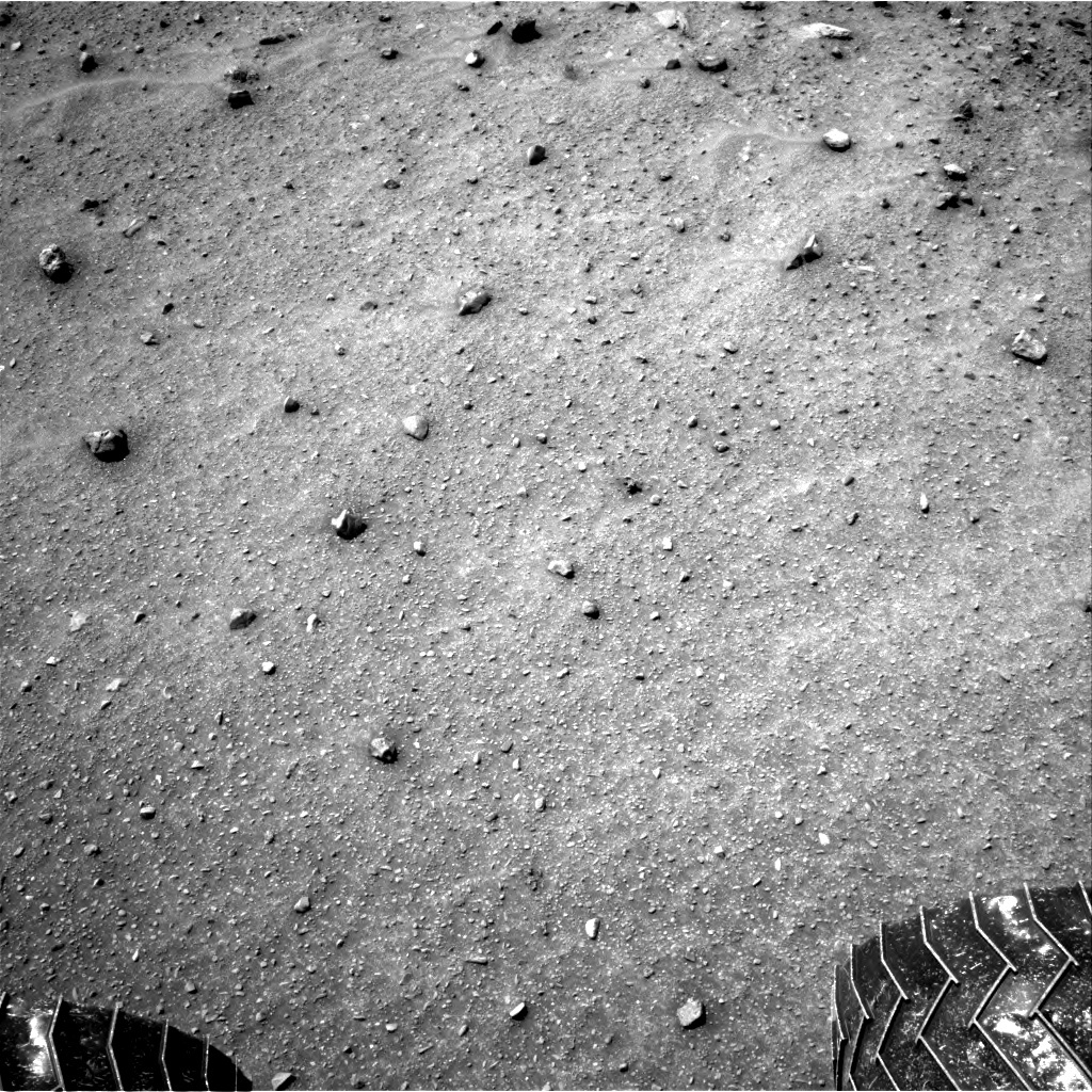 NASA's Mars rover Curiosity acquired this image using its Right Navigation Cameras (Navcams) on Sol 962