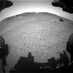 Nasa's Mars rover Curiosity acquired this image using its Front Hazard Avoidance Camera (Front Hazcam) on Sol 963, at drive 1794, site number 46