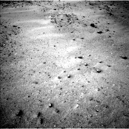 Nasa's Mars rover Curiosity acquired this image using its Left Navigation Camera on Sol 963, at drive 1788, site number 46