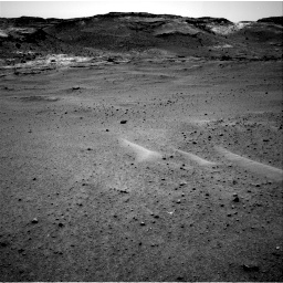 Nasa's Mars rover Curiosity acquired this image using its Right Navigation Camera on Sol 963, at drive 1794, site number 46