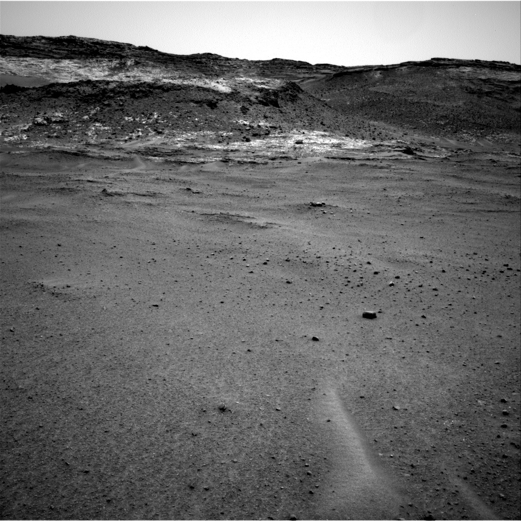Nasa's Mars rover Curiosity acquired this image using its Right Navigation Camera on Sol 963, at drive 1812, site number 46