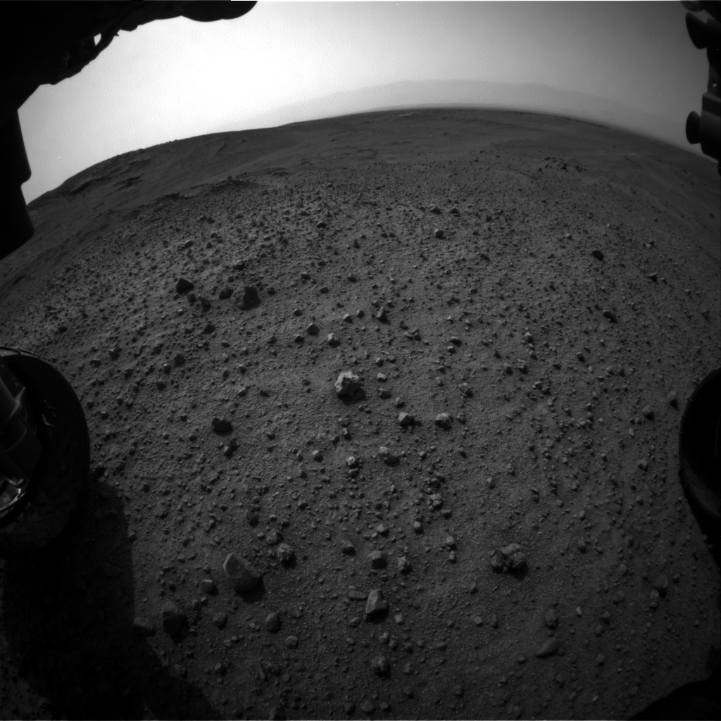 Nasa's Mars rover Curiosity acquired this image using its Front Hazard Avoidance Camera (Front Hazcam) on Sol 964, at drive 0, site number 47