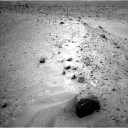 Nasa's Mars rover Curiosity acquired this image using its Left Navigation Camera on Sol 964, at drive 1818, site number 46