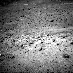 Nasa's Mars rover Curiosity acquired this image using its Left Navigation Camera on Sol 964, at drive 1998, site number 46