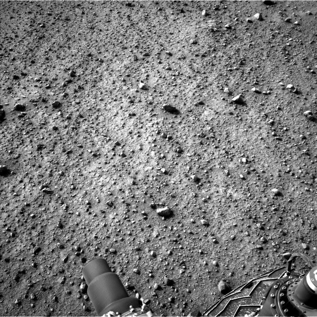 Nasa's Mars rover Curiosity acquired this image using its Left Navigation Camera on Sol 964, at drive 0, site number 47