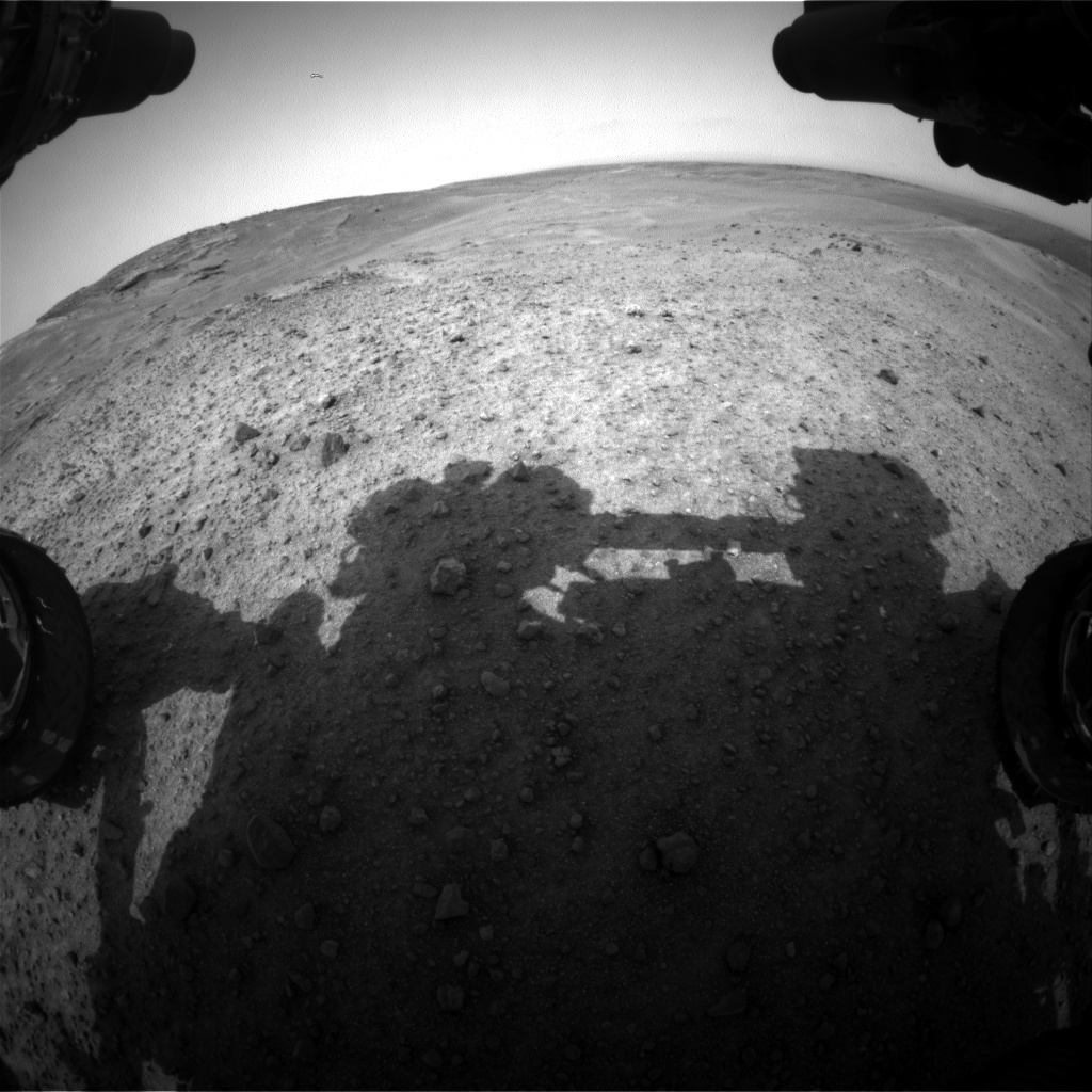 Nasa's Mars rover Curiosity acquired this image using its Front Hazard Avoidance Camera (Front Hazcam) on Sol 967, at drive 0, site number 47
