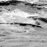 Nasa's Mars rover Curiosity acquired this image using its Left Navigation Camera on Sol 967, at drive 222, site number 47