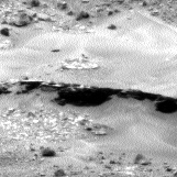 Nasa's Mars rover Curiosity acquired this image using its Left Navigation Camera on Sol 967, at drive 384, site number 47