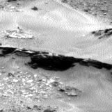 Nasa's Mars rover Curiosity acquired this image using its Left Navigation Camera on Sol 967, at drive 402, site number 47