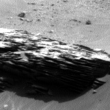 Nasa's Mars rover Curiosity acquired this image using its Left Navigation Camera on Sol 967, at drive 516, site number 47