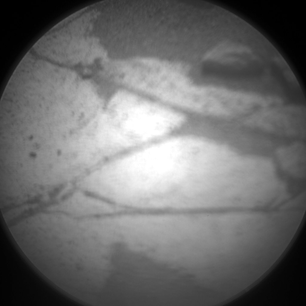 Nasa's Mars rover Curiosity acquired this image using its Chemistry & Camera (ChemCam) on Sol 970, at drive 522, site number 47